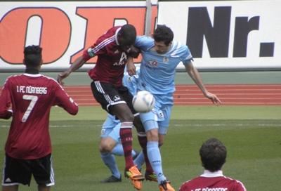 Vitus Eicher sichert den Sieg beim FCN