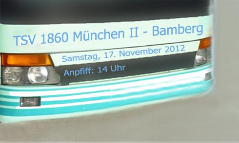 Fanrat-Bus zum Spiel gegen Bamberg