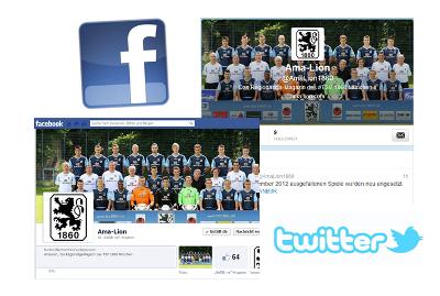 Ama-Lion ab sofort auch auf Facebook und Twitter