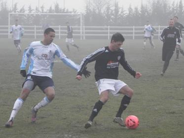 Trainingslager Tag 3: Nebel, Eis und ein Sieg gegen Garching