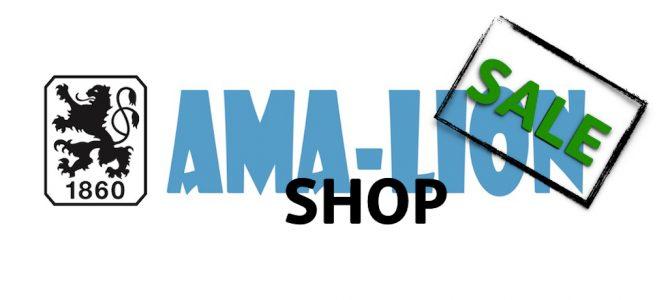 Saison-Schlussverkauf: 50% im Ama-Lion Shop