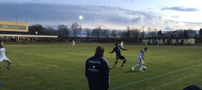 Knappe Niederlage gegen Ingolstadt II