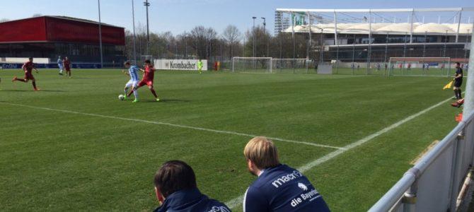 Knappe Niederlage beim VfB Stuttgart