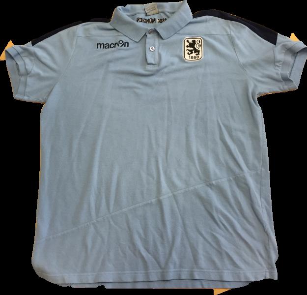 sale retailer 787f7 0e052 macron Poloshirt, hellblau/dunkelblaue Streifen, 3 XL