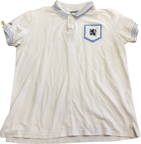 info for f5db3 020cb macron Poloshirt, weiß, 3 XL