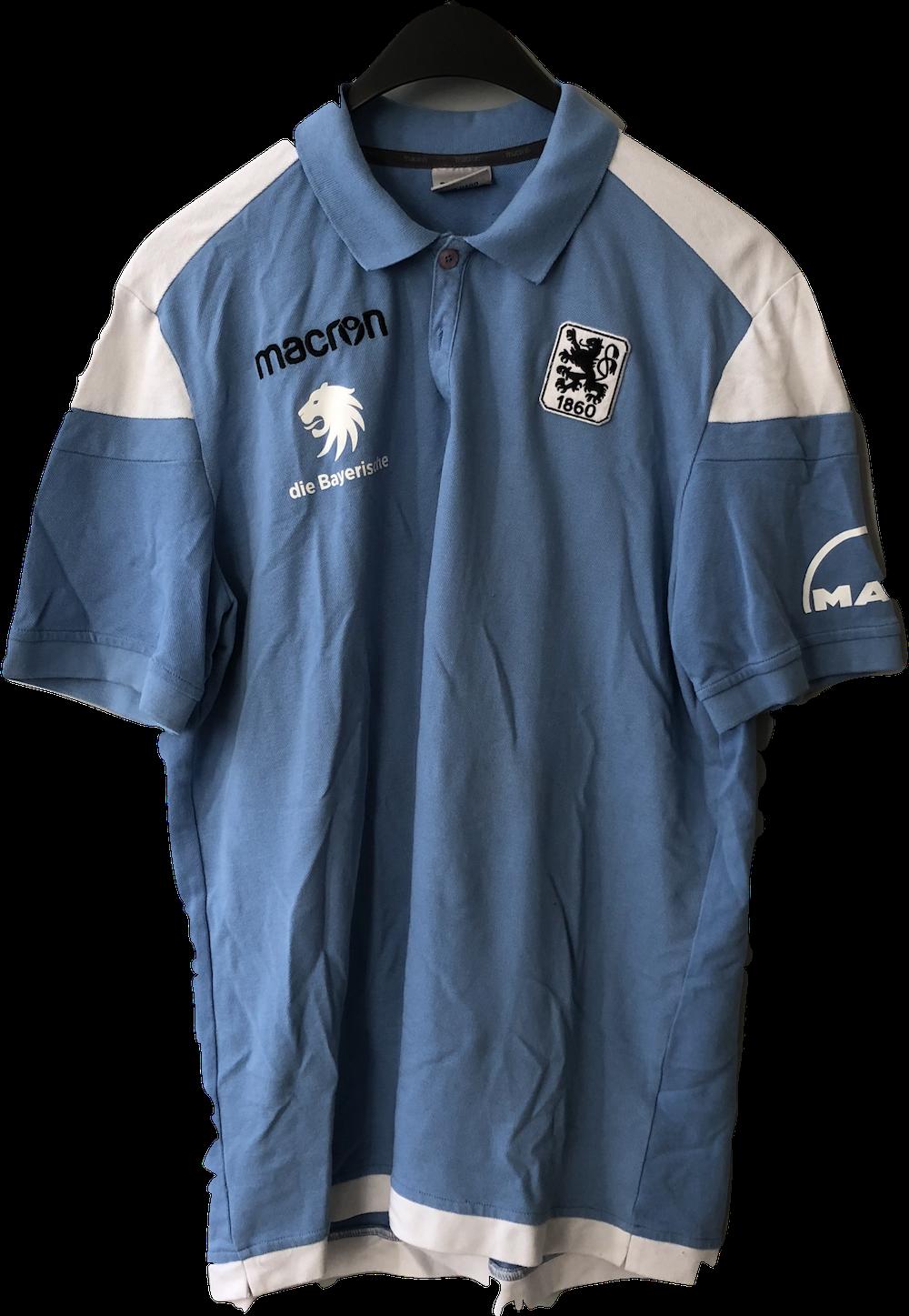 Poloshirt Die Bayerische Hellblau M Man Logo Grosse 3xl Ama Lion