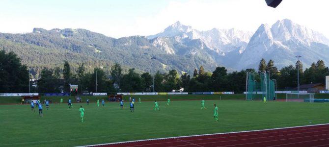Test in Garmisch endet 2:2