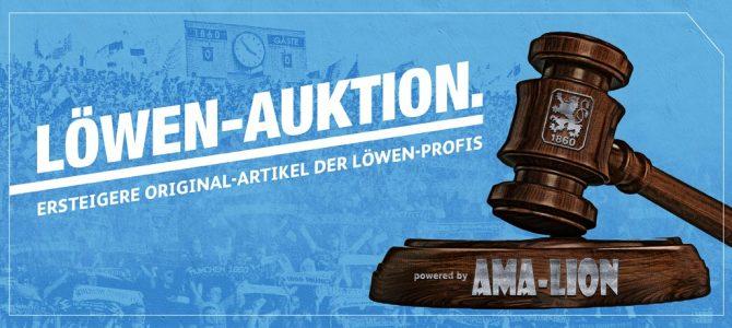 Jetzt neu: Die Löwen-Auktion powered by Ama-Lion