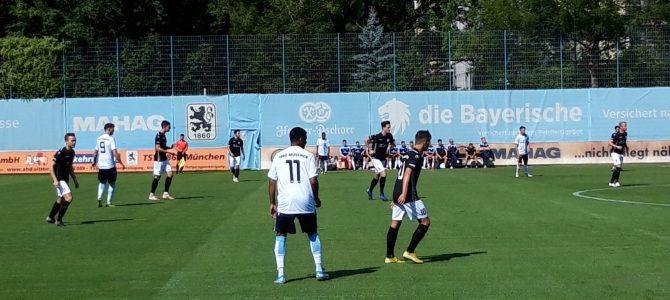 U21 punktet spät gegen Schwabmünchen